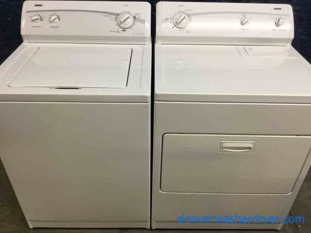 Clic Kenmore Direct Drive Washer Dryer Set Super Capacity 1 Year Warranty 220v