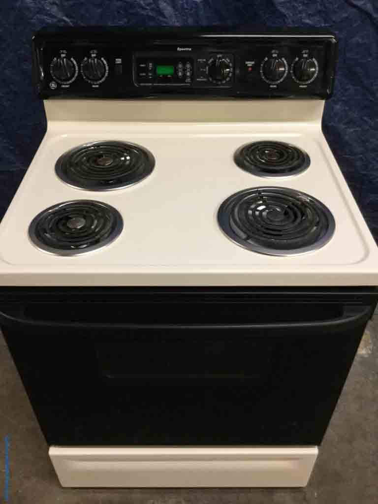 Large Images For Discount Electric Range 30 Freestanding