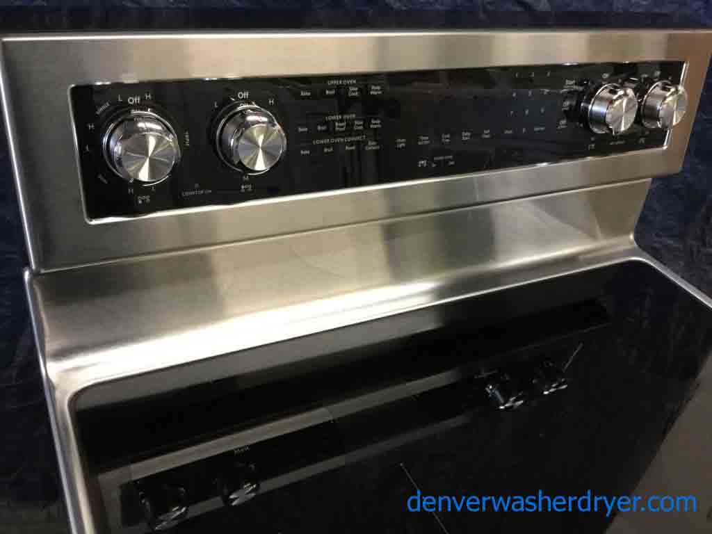 *NEW* Tactical Stainless Freestanding Range With Double Convection Oven By  Kitchenaid!
