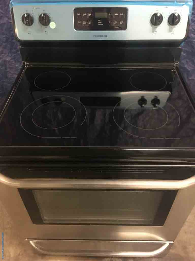 Large Images for Black and Stainless Frigidaire 54 Cu Ft Self