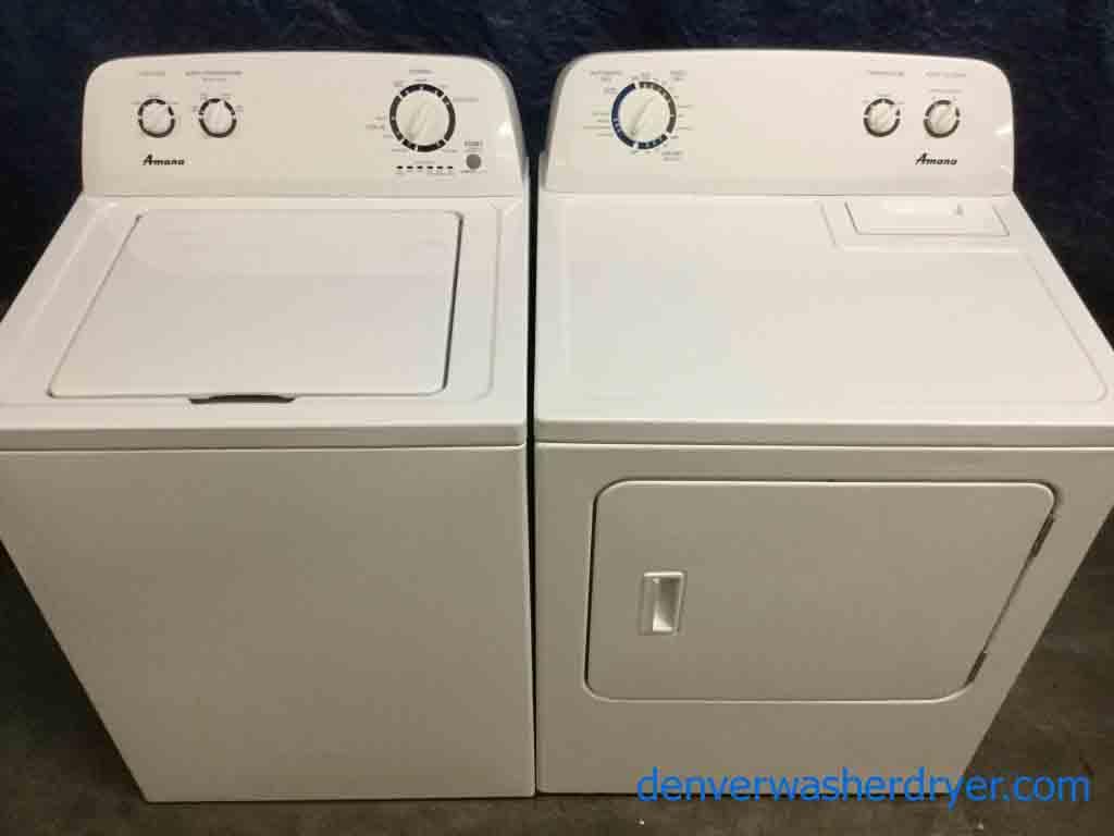 Large Images for Amazing Amana Washer Dryer Set FullSized