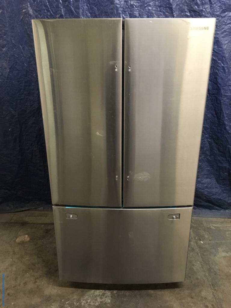 Large images for new samsung 36 stainless wfrench door new samsung 36 stainless wfrench door refrigerator 26 cu ft 1 year warranty rubansaba