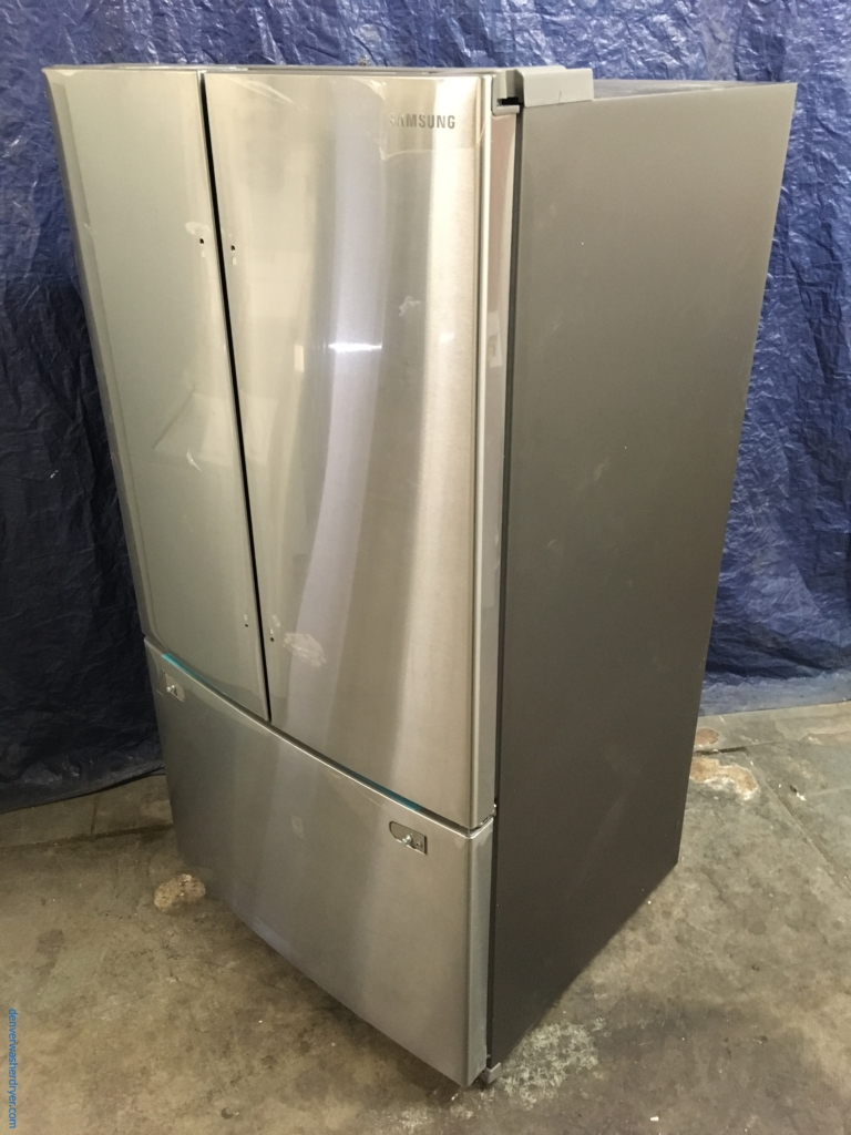 Large images for new samsung 36 stainless wfrench door ft new samsung 36 stainless wfrench door refrigerator 26 cu ft rubansaba