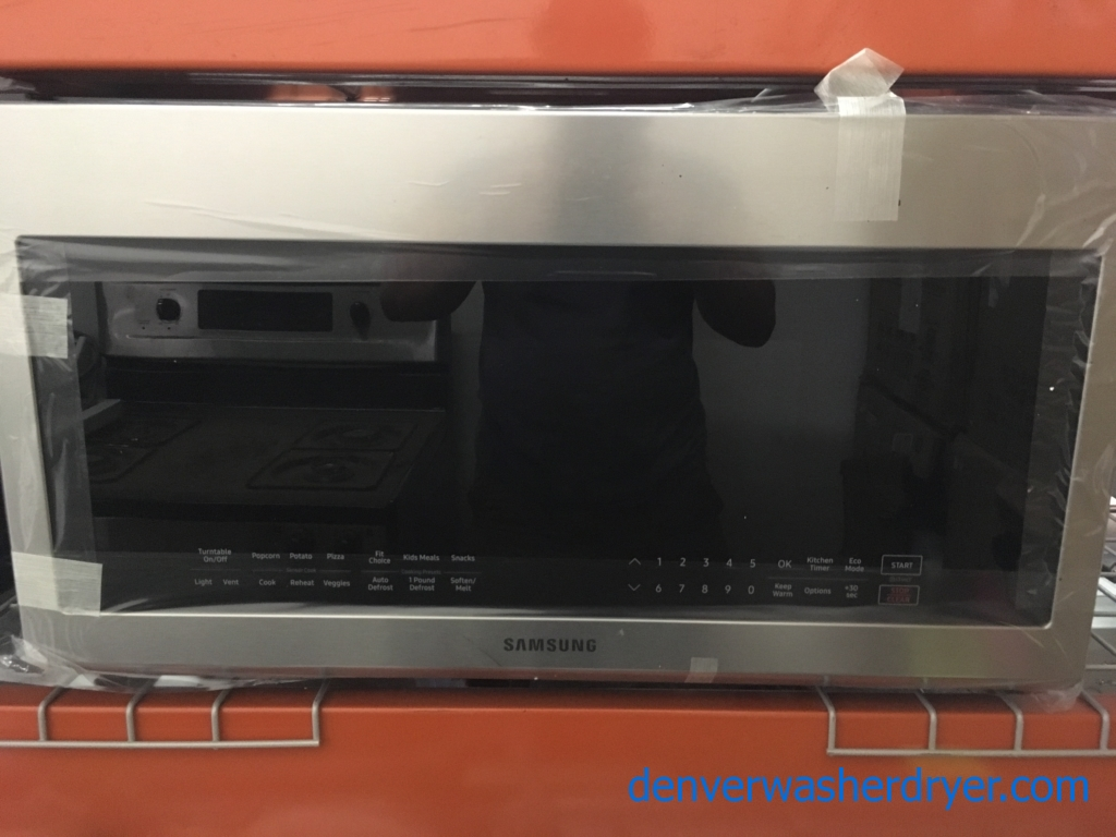 Large Images For Brand New Samsung 30 Stainless Over The Range Microwave 1 Year Warranty 3779