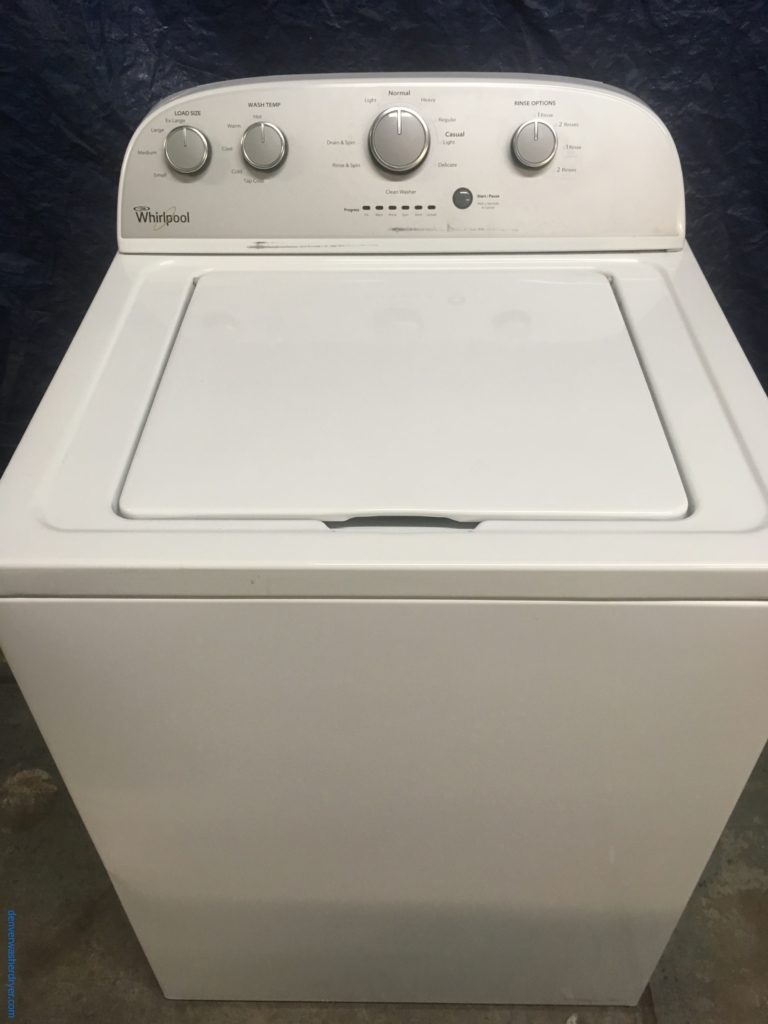 Whirlpool Washer With Agitator >> Large Images For 27 Whirlpool Top Load Washer With Agitator 1 Year