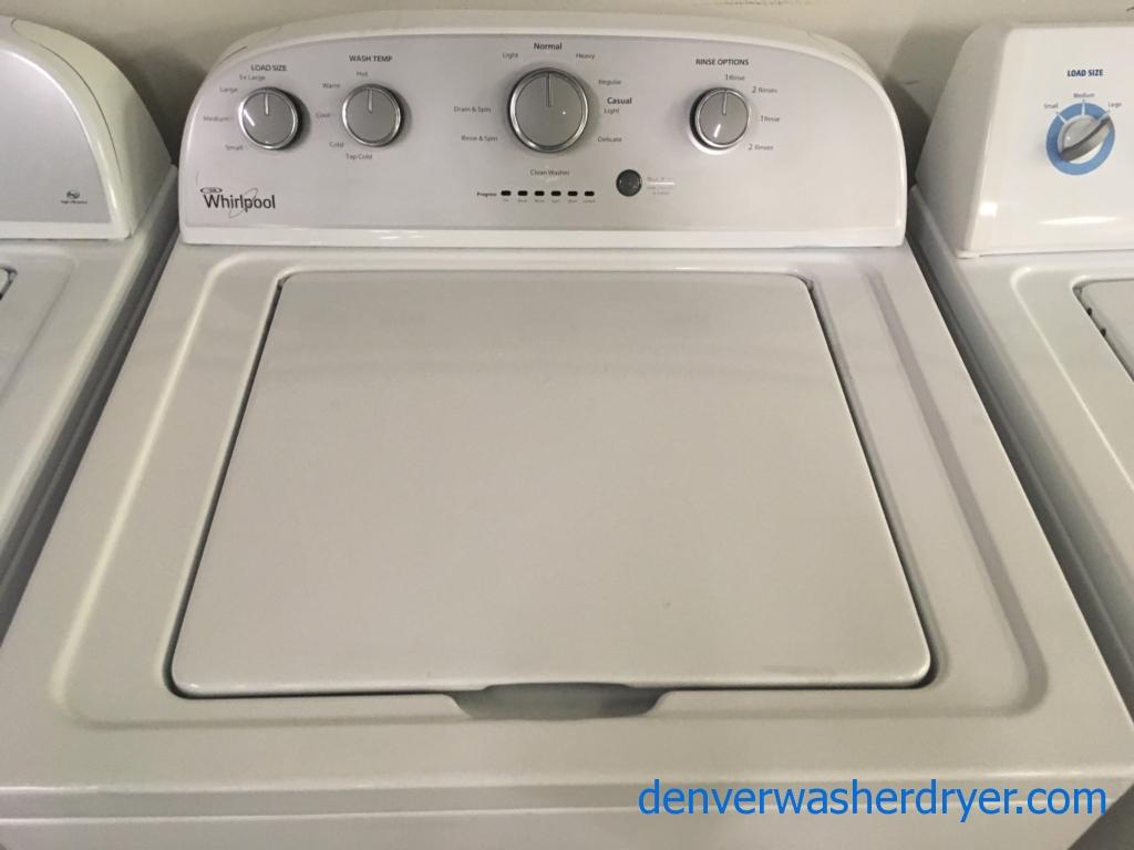 Whirlpool Full-Size Washer, Agitator, Quality Refurbished, 1-Year Warranty!