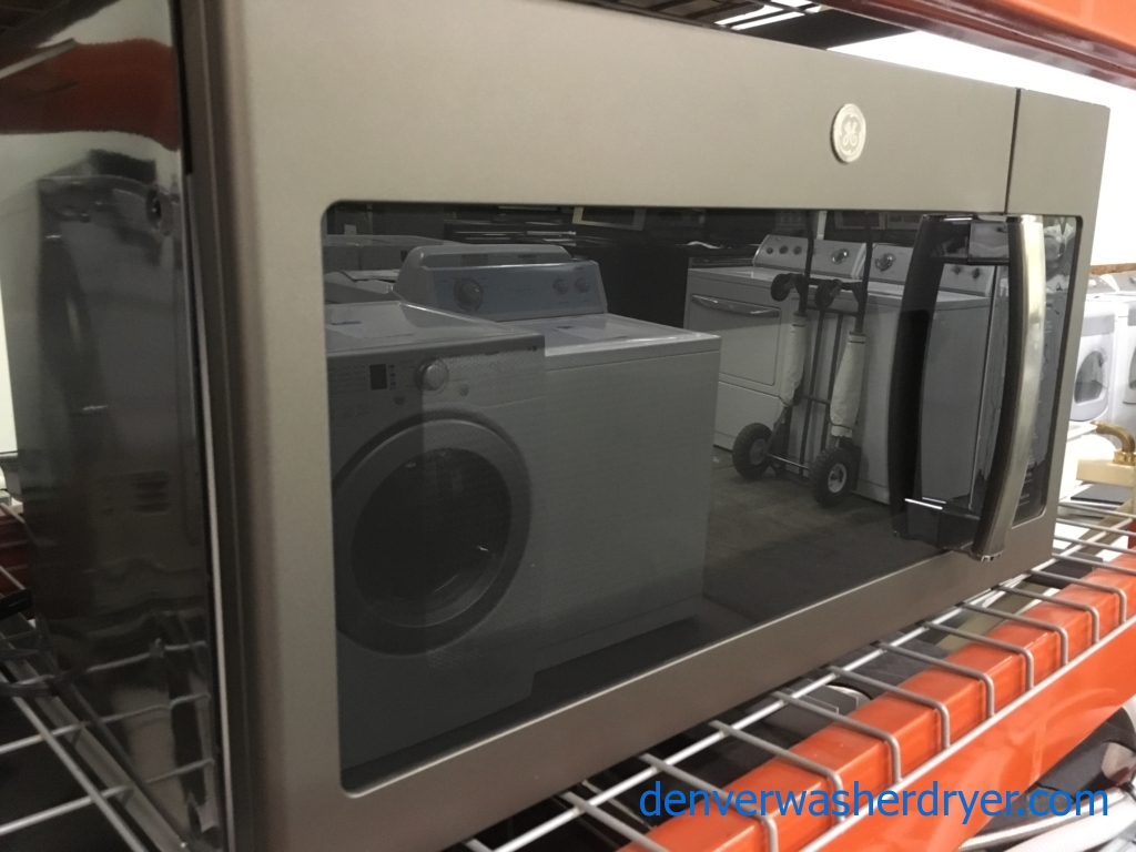 NEW! GE Microwave, Slate Fingerprint Resistant, Sensor Cooking, Melt Feature, Capacity 1.7 Cu.Ft., 1-Year Warranty!