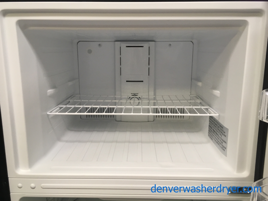 Lightly Used Insignia Top-Mount Refrigerator, Stainless, 30″ Wide, Insignia 24″ Stainless Steel Dishwasher, Kenmore Elite Gas Stainless Steel Range, Quality Refurbished, 1-Year Warranty!