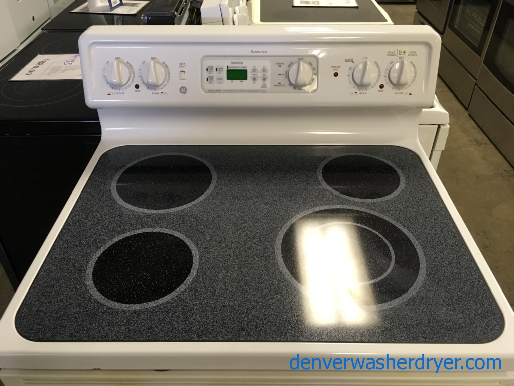 GE, Kenmore and Whirlpool Glass-Top Ranges, Quality Refurbished