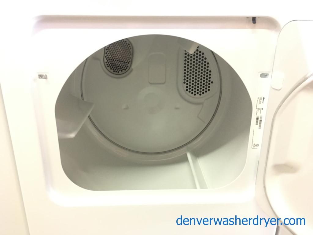 Amana Washer and Dryer Set, Agitator, Electric, 29″ Wide, Quality Refurbished, 1-Year Warranty!