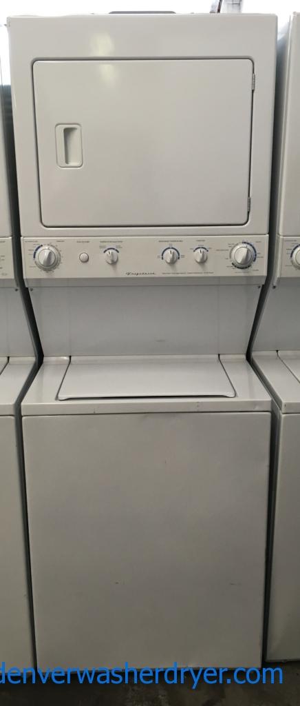 Frigidaire Unitized Washer and Dryer, Electric, Agitator, Automatic Dry, Extra Large Capacity, Heavy-Duty, Quality Refurbished, 2-Year Warranty!