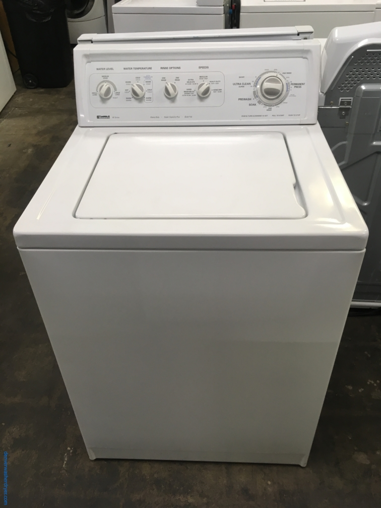 Large Images for Kenmore 90 Series Top-Load Washer ...