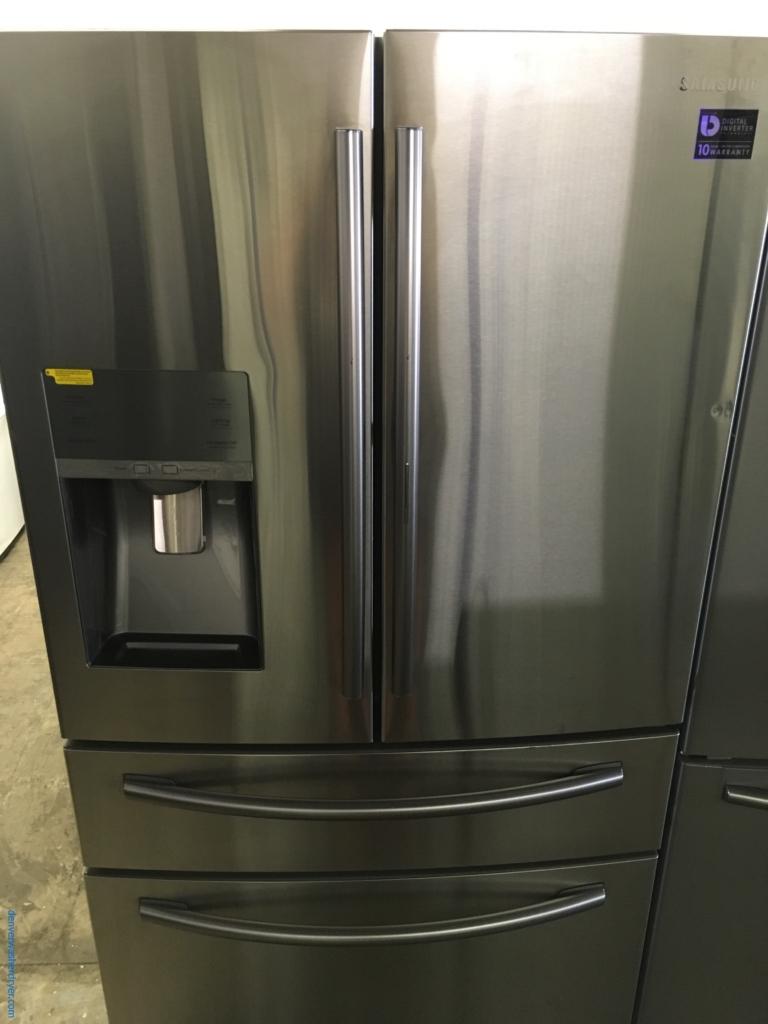NEW! Scratch/Dent SAMSUNG French-Door Refrigerator, Stainless, FlexZone, 27.8 Cu.Ft. Capacity, Food ShowCase, 1-Year Warranty!